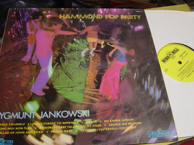 Zygmunt Jankowski - Hammond Pop Party - Wind Mill WMD.145